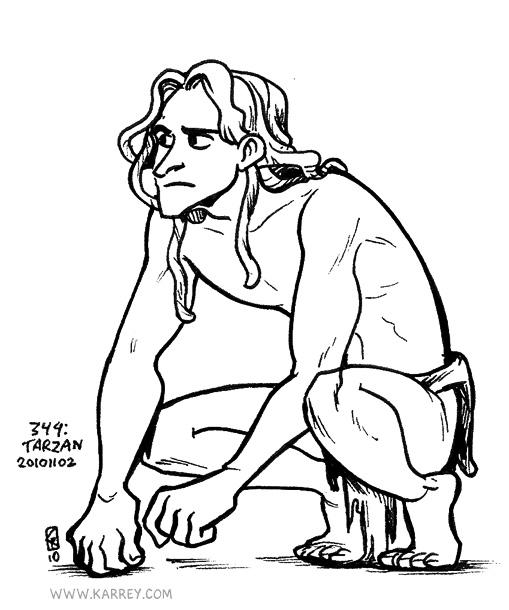 disney tarzan drawing at getdrawings com