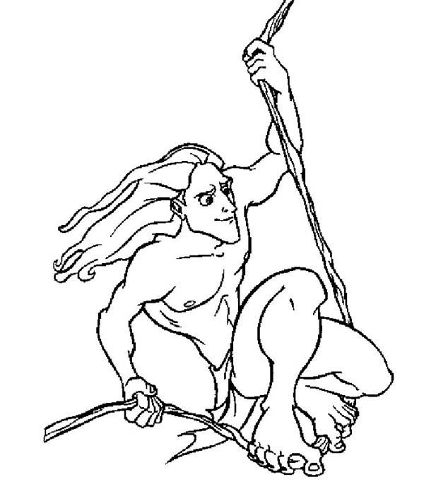 Disney Tarzan Drawing at GetDrawings.com | Free for personal use ...