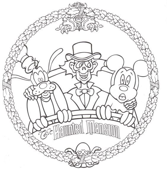 564x580 Coloring Page Disney World