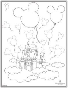 236x304 Disney World Coloring Pages