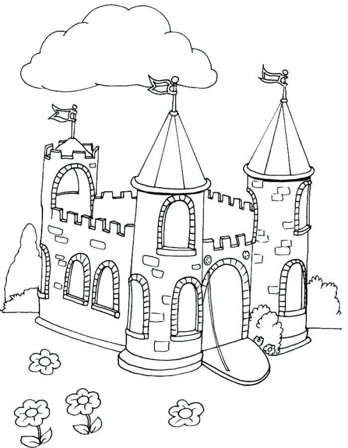 699x900 Trend Castles Coloring Pages Image Great Games Castle Book
