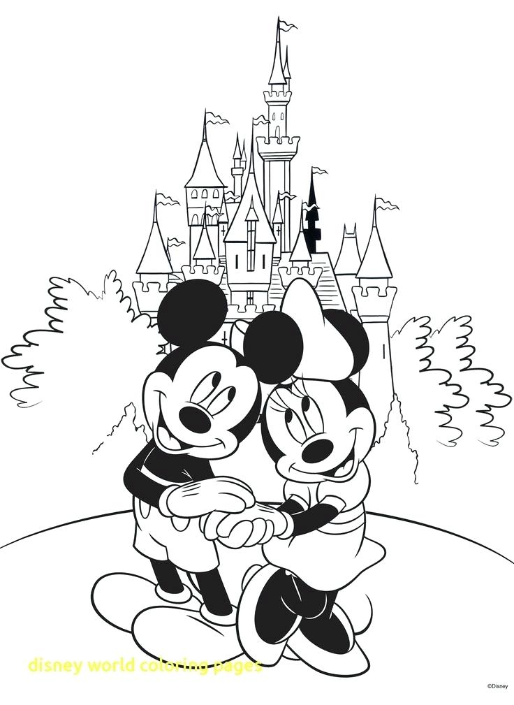 736x1009 Walt Disney World Coloring Pages World Coloring Pages Good