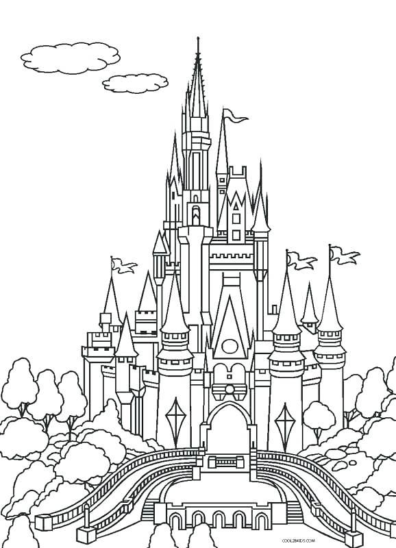 578x800 Castle Coloring Pictures Simple Castle Coloring Pages Sand Castle
