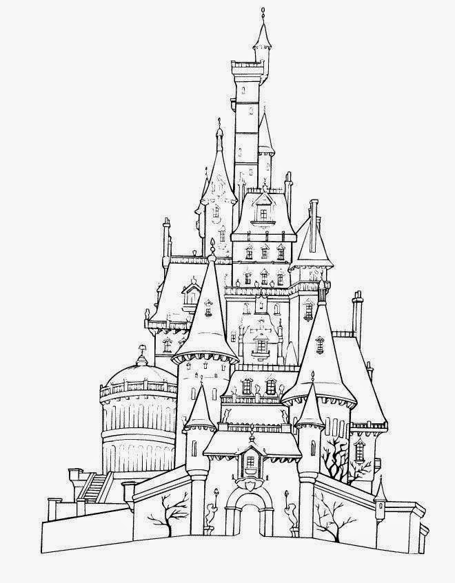 660x847 Disney World Coloring Pages