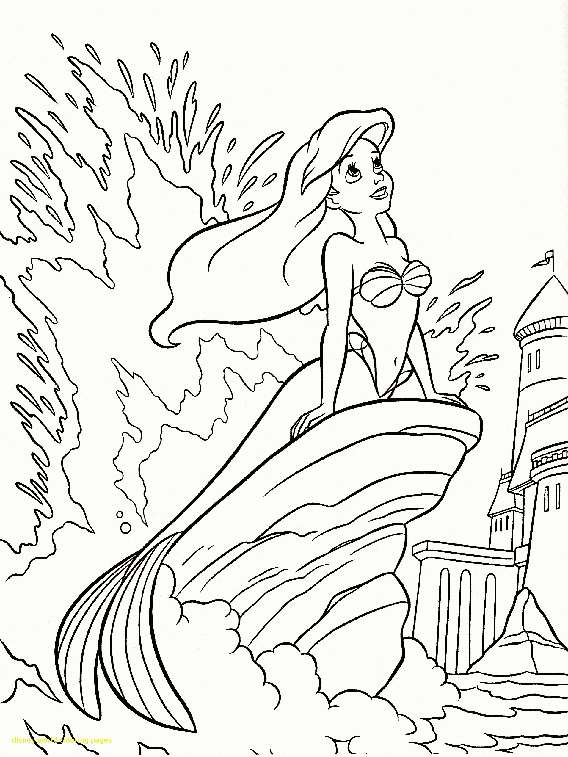 1910x2545 Disney World Coloring Pages With Alice In Wonderland Coloring