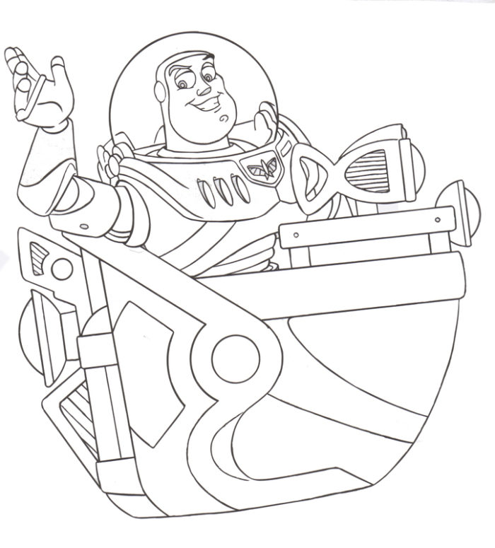 700x775 Disney World Coloring Pages