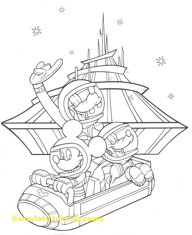 653x800 Disneyland Coloring Pages With Disney World Coloring Pages