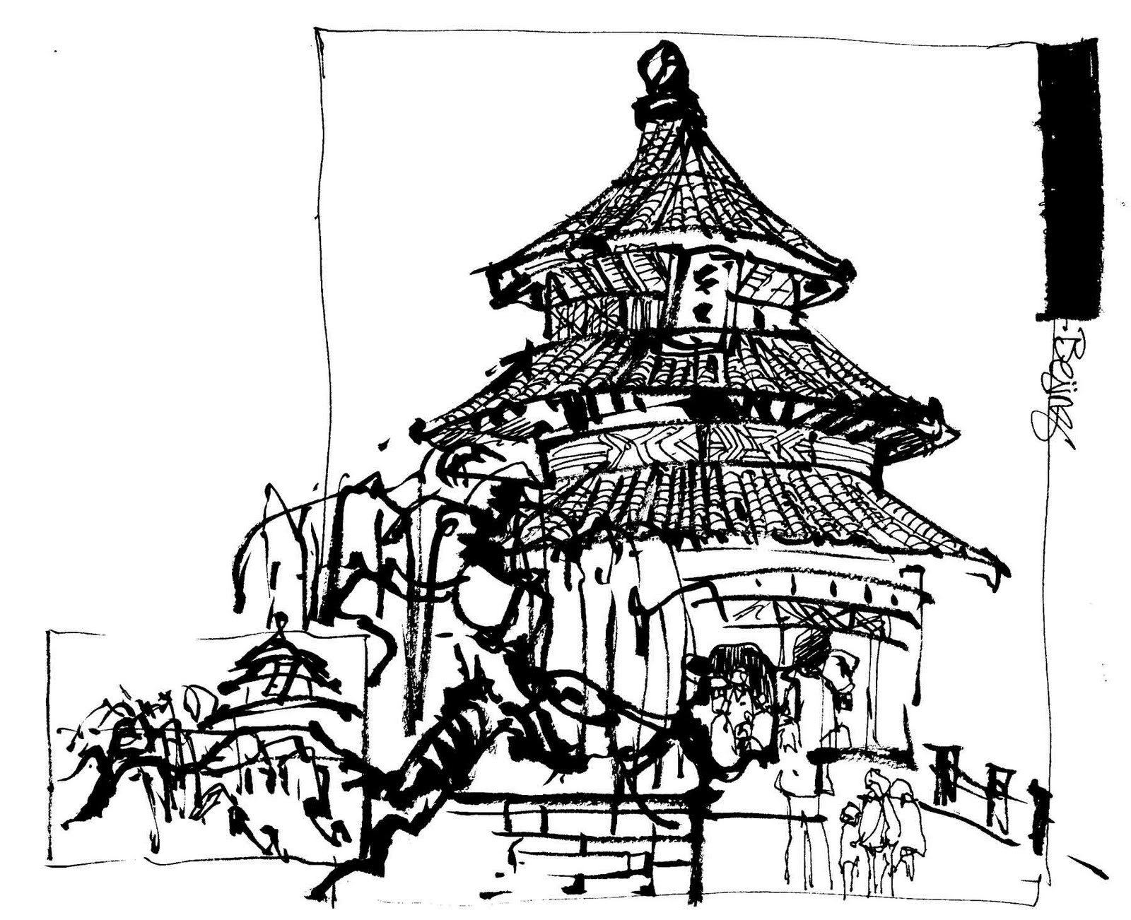 1600x1302 Urban Sketchers S.f. Bay Area More Sketches From Disney World