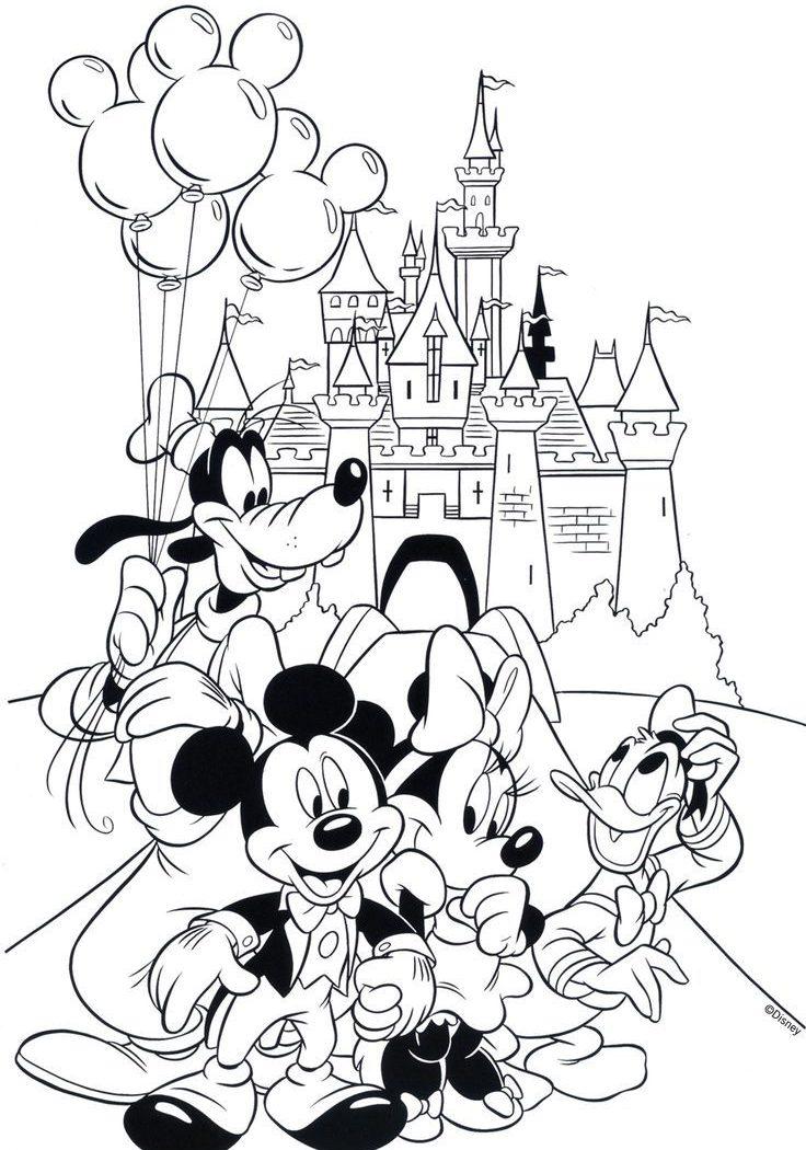 736x1050 Walt Disney Princess Ariel Coloring Pages For Kids Cartoons Book