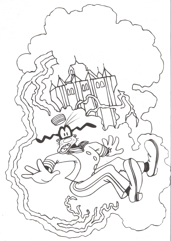 567x800 Tower Of Terror Tagged With Walt Disney World Coloring Pages