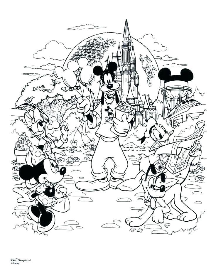 Disneyland Castle Drawing at GetDrawings   Free download