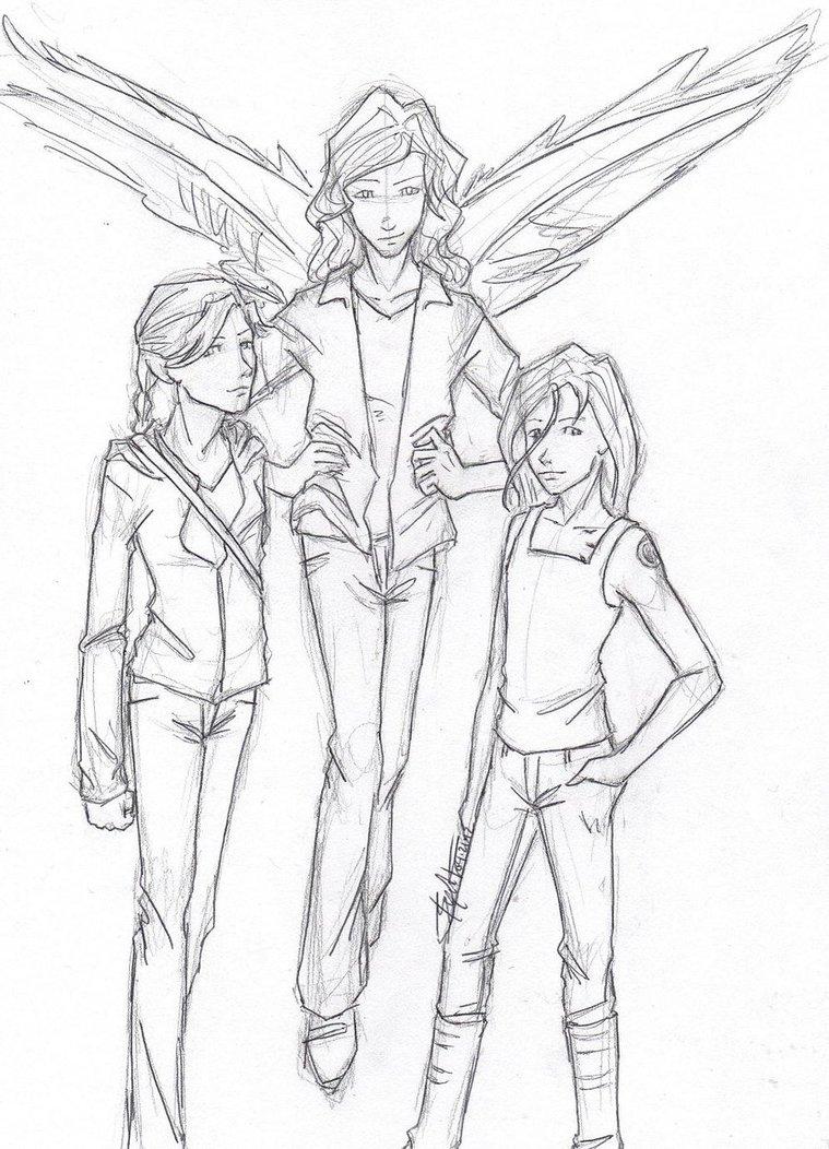 759x1052 Katniss (Hunger Games Trilogy), Max (Maximum Ride Series),