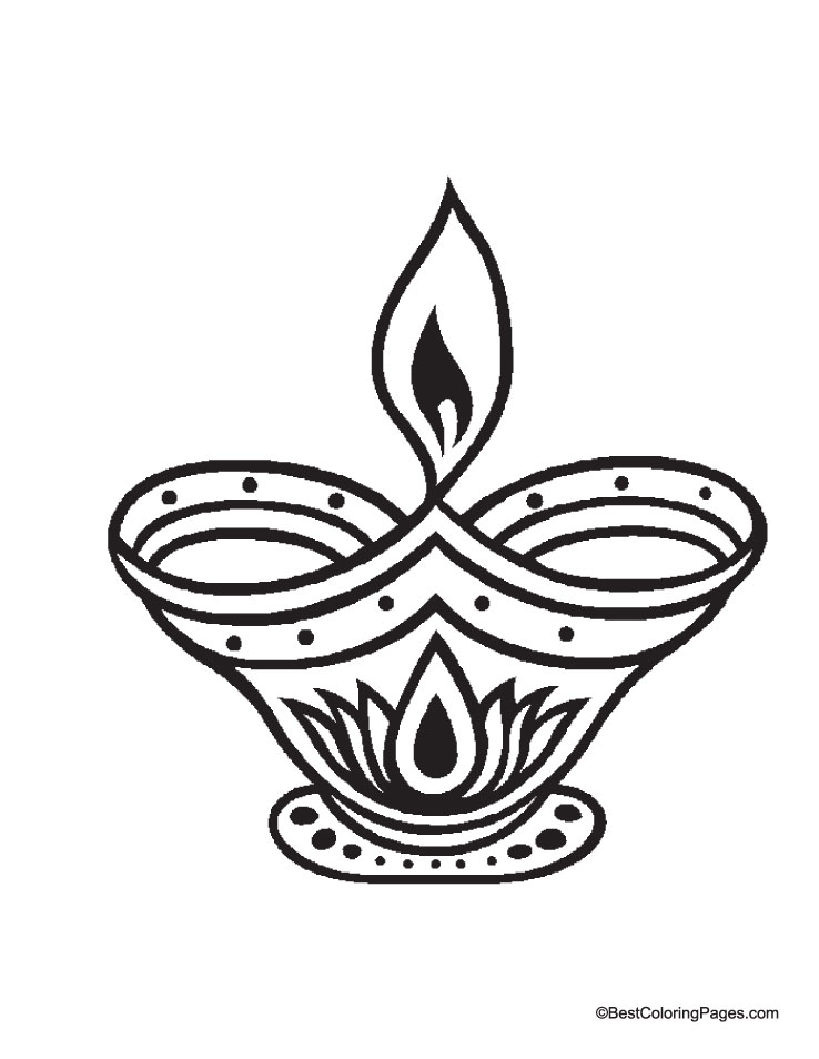 The Best Free Diya Drawing Images  Download From 37 Free