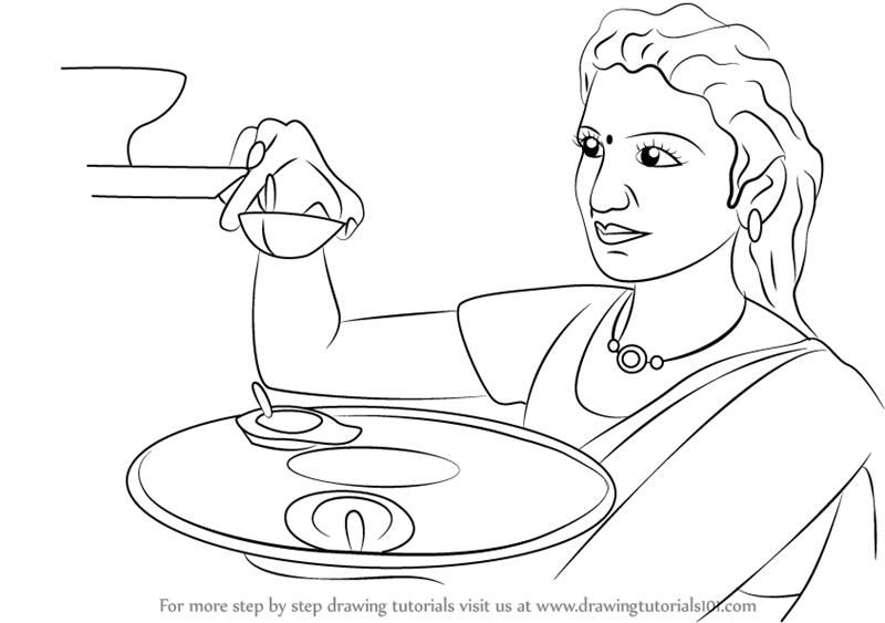 800x563 Learn How To Draw Diwali Celebrations (Diwali) Step By Step