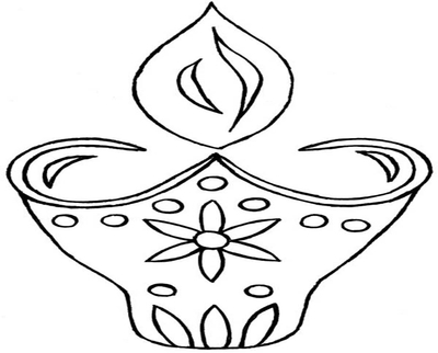 400x322 Diwali Lights Coloring Pages Here Home Celebrating Light Festival