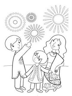 242x320 Digital Dunes Diwali Coloring Pages, 2011 Deepavali Coloring Pages
