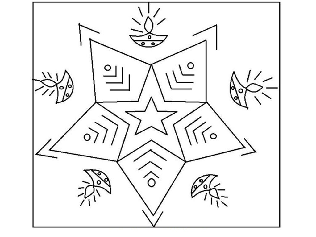 diwali rangoli drawing at getdrawings com free for personal use