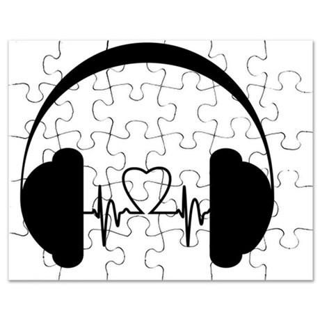 460x460 Dj Headphones Puzzles, Dj Headphones Jigsaw Puzzle Templates