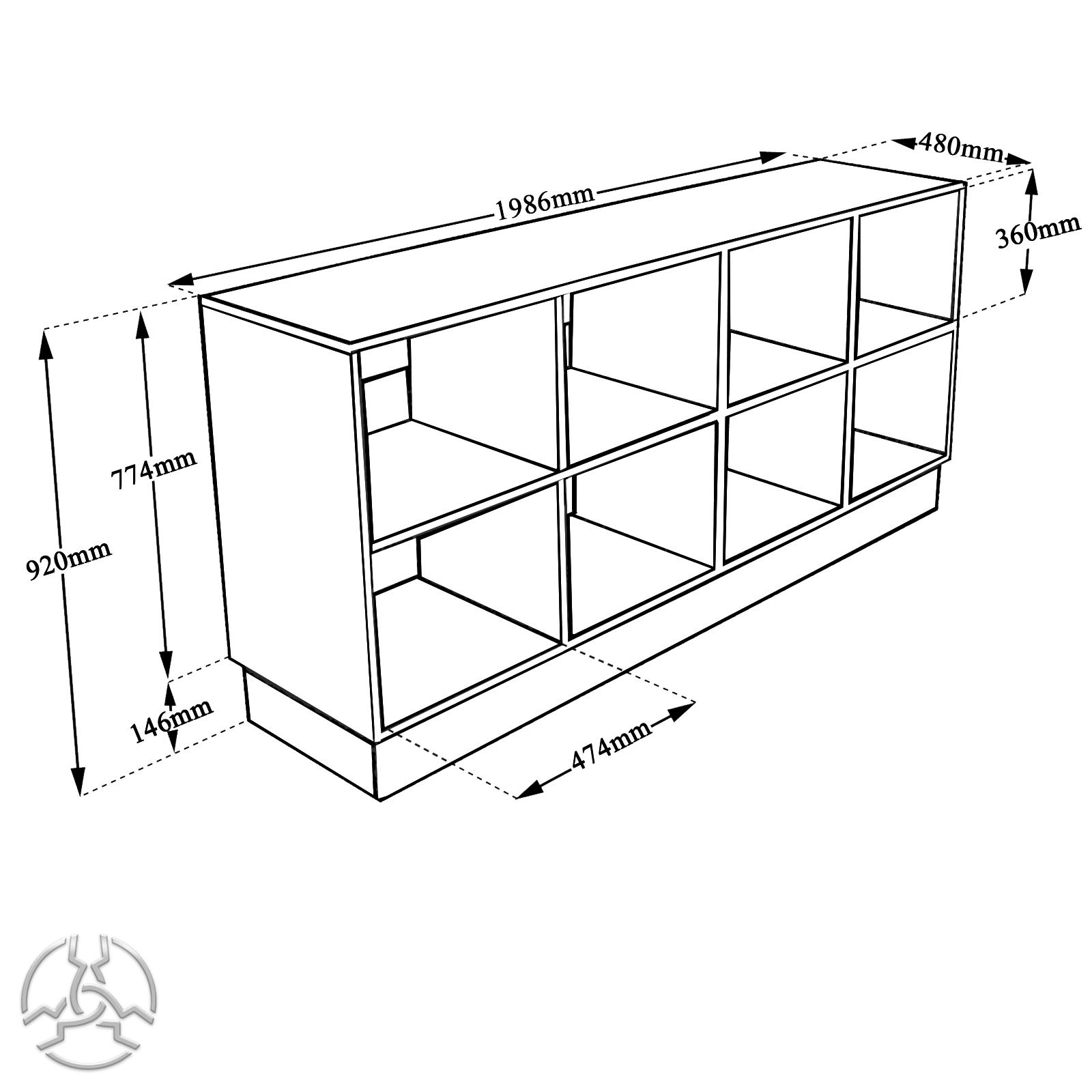 1600x1600 Ds2000 Big Dj Desk For Turntables Cdjs And Mixer