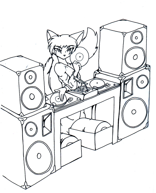 636x786 Seth The Dj By Tierafoxglove