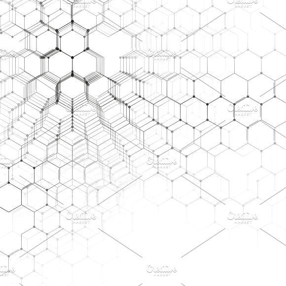 580x580 Chemistry 3d Pattern On White Graphics Chemistry 3d Pattern