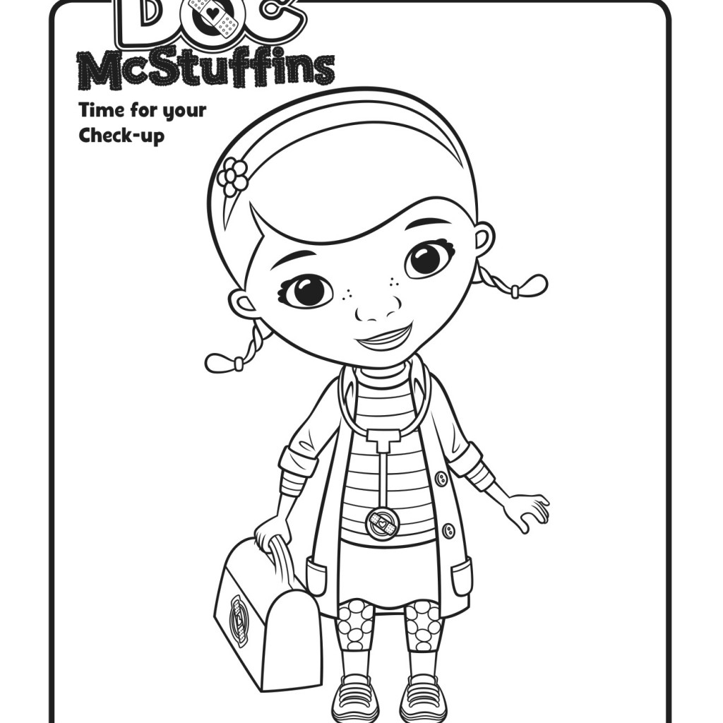 1024x1024 Doc Mcstuffins Drawing Doc Mcstuffins Coloring Pages Whataboutmimi