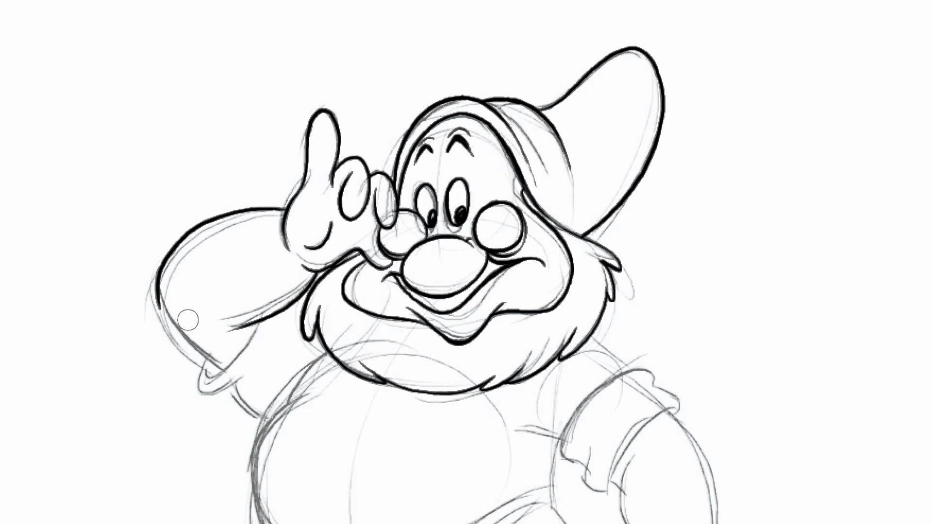 1920x1080 How To Draw Dwarfs (Doc) In Disney's Snow White And The Seven