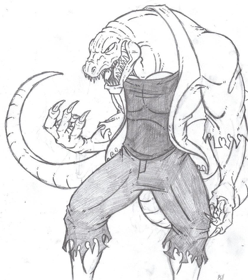 841x950 The Lizard