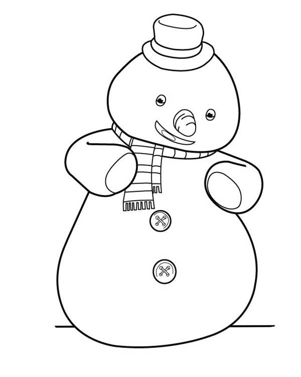 600x750 Chilly From Doc Mcstuffins Coloring Page