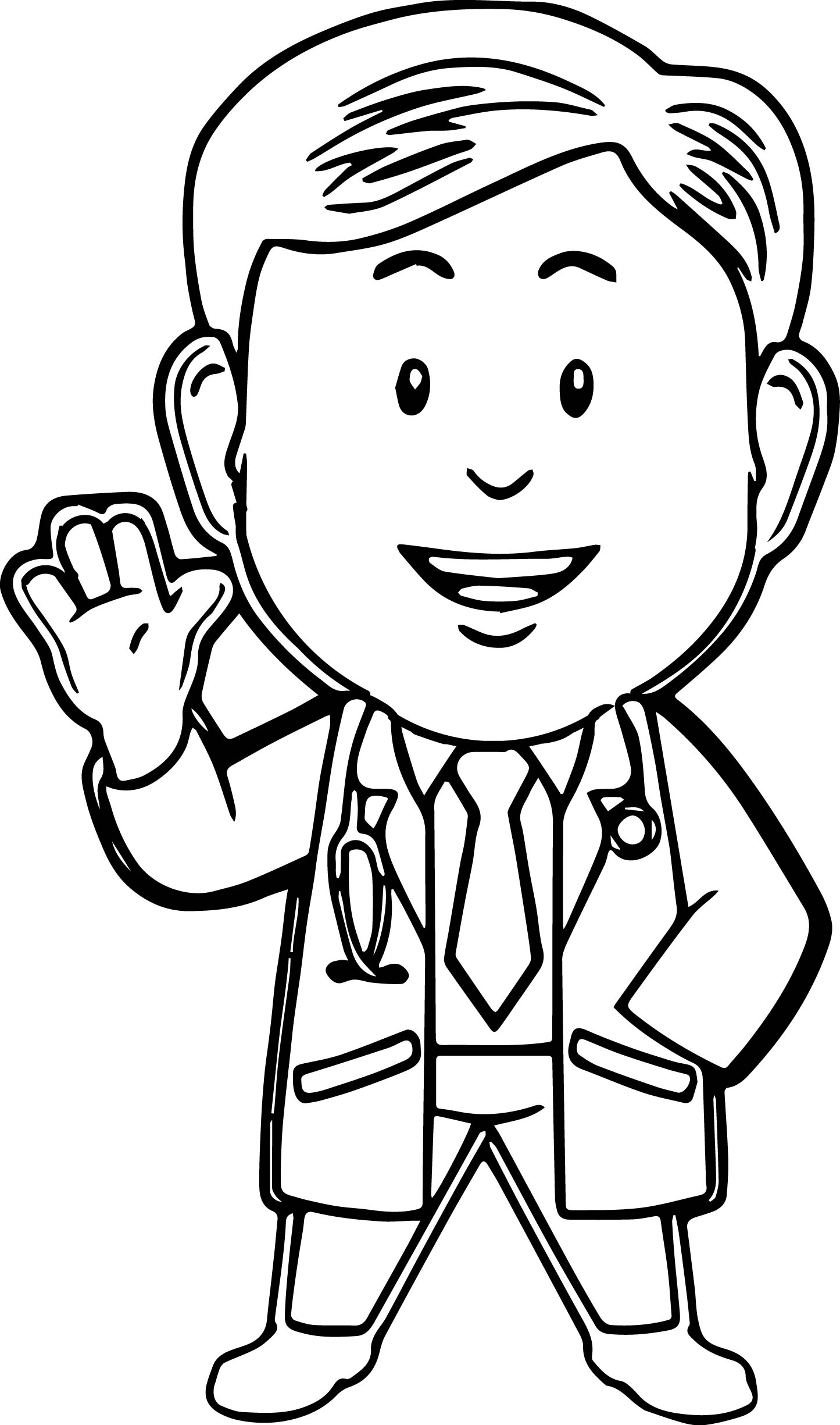 1445x2450 Doctor Coloring Pages With Doctor Coloring Pages Coloring Pages