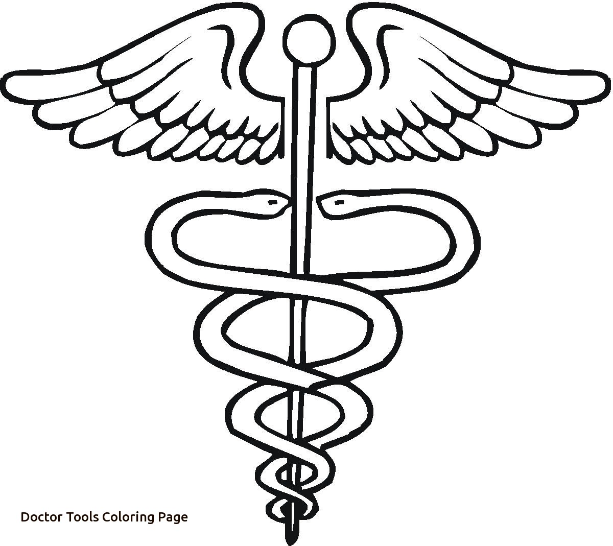 coloring pages doctor tools - photo#25
