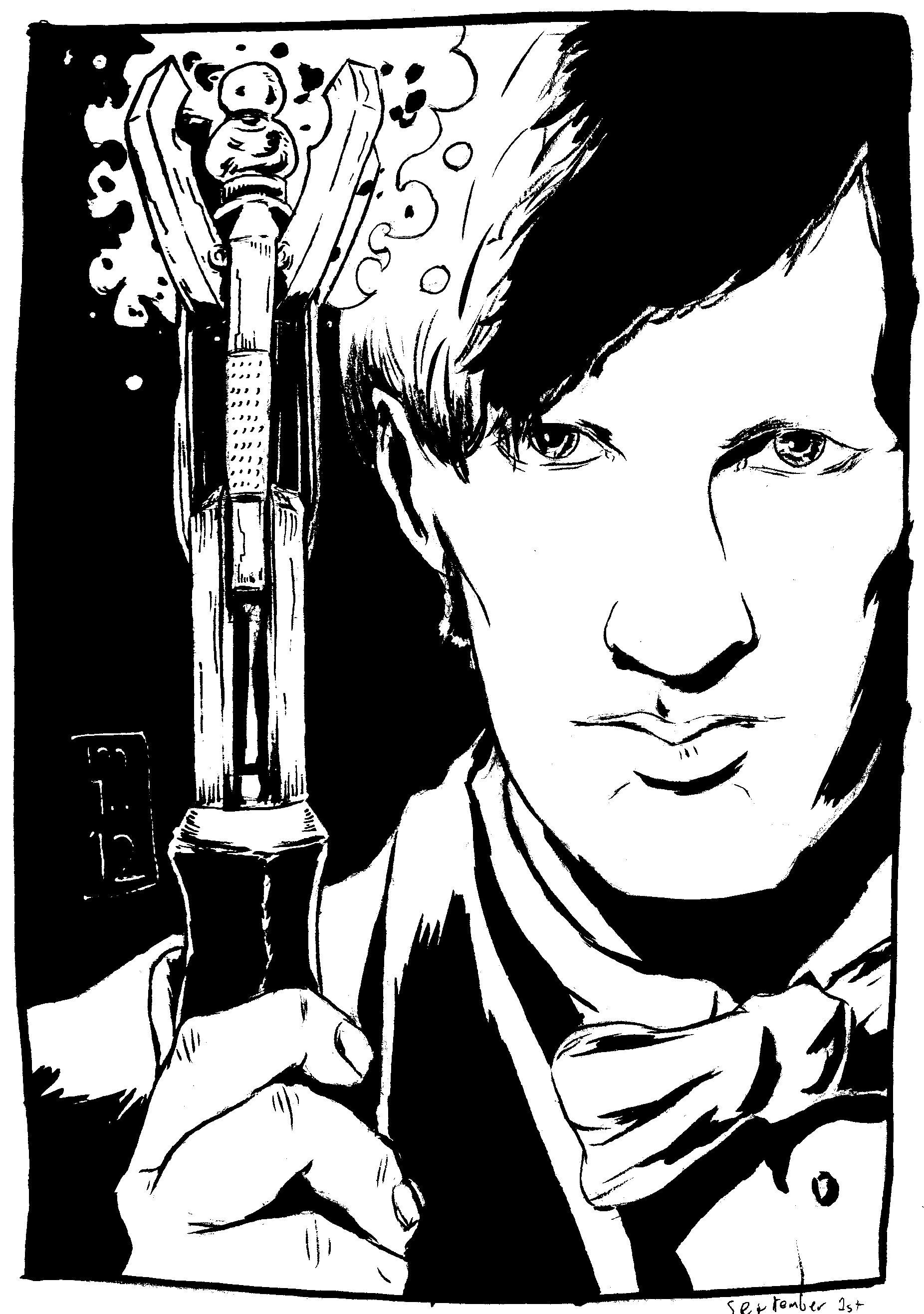 1852x2634 Doctor Who 1012 Sketchbook
