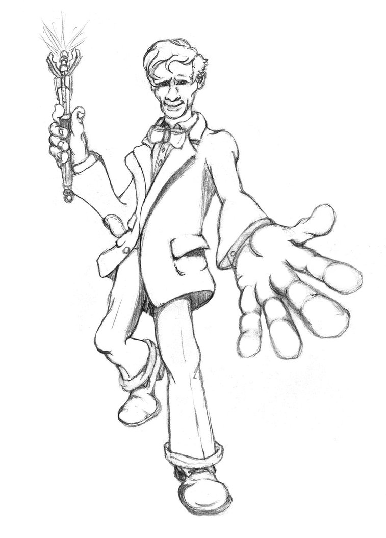 757x1056 Doctor Who Sketch
