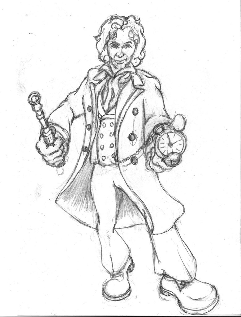 779x1025 Doctor Who Sketch