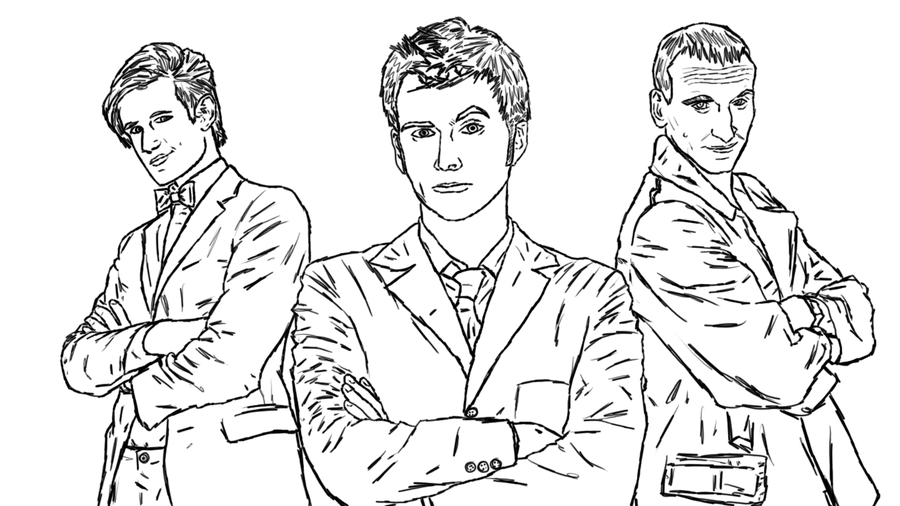 900x506 Doctor Who Line Wip By Manlikeyeti