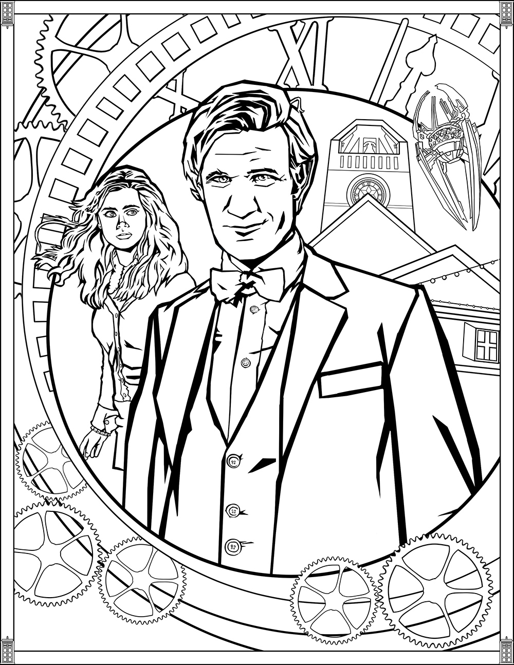 1000x1294 Doctor Who Pages Eleventh Doctor Tv Shows