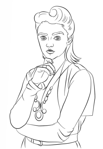333x480 Ashildr From Doctor Who Coloring Page Free Printable Coloring Pages