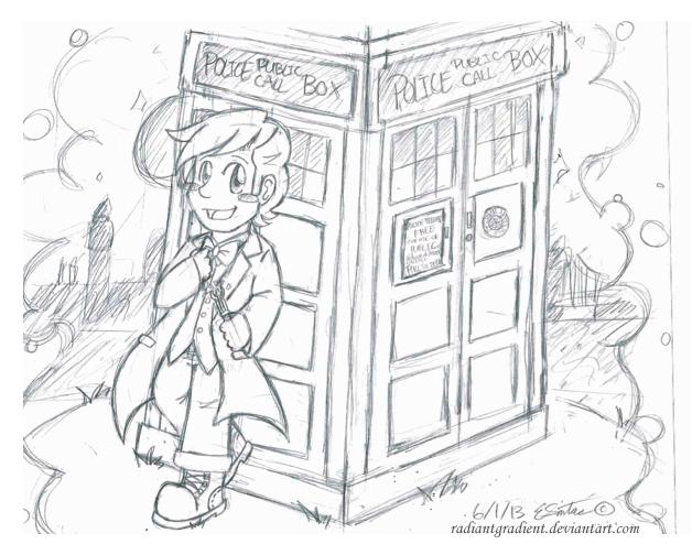 628x504 Goodbye 11th Doctor Matt Smith By Radiantgradient