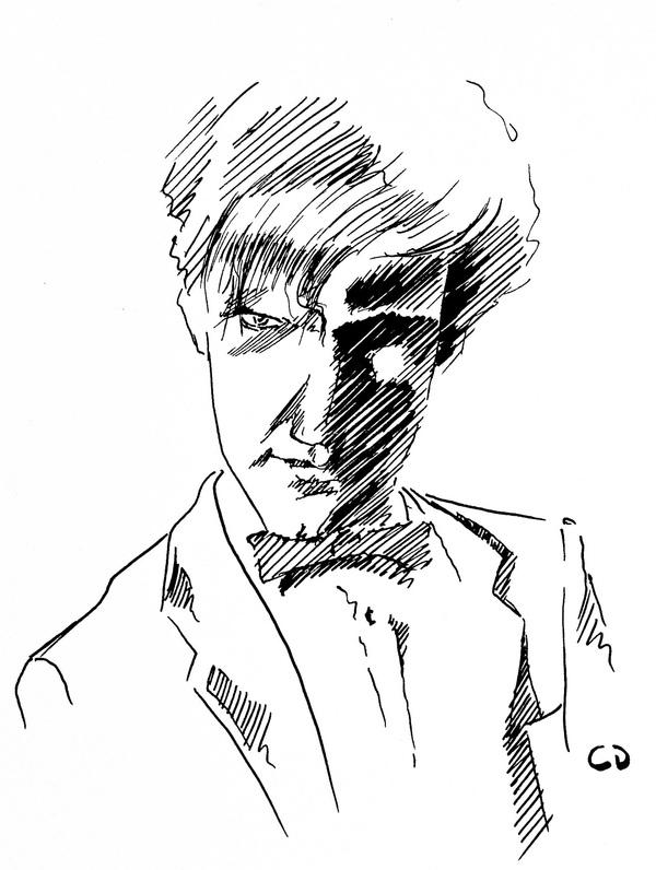 600x796 Realistic Celebrity Portrait Sketches Top Design Magazine