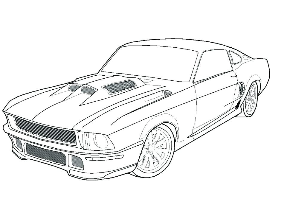 940x705 Dodge Challenger Coloring Pages Dodge Challenger Coloring Pages