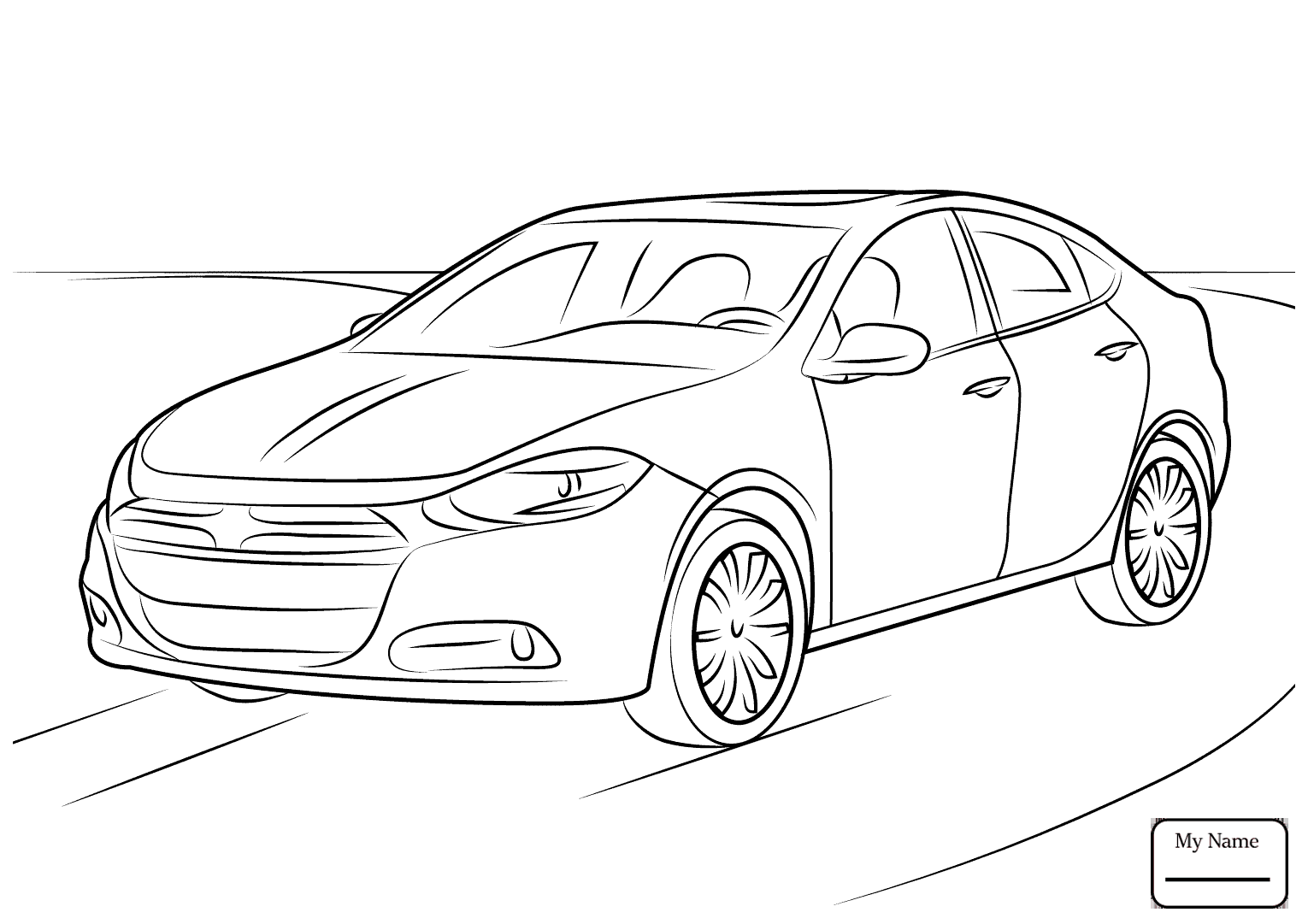 Dodge Charger Drawing at GetDrawings com | Free for personal use