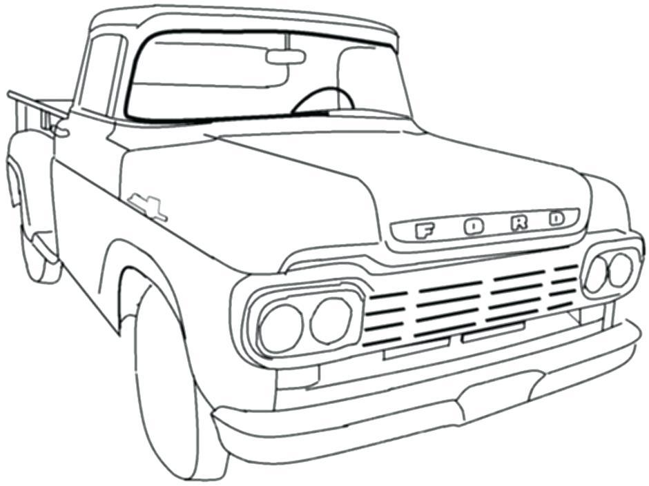 Dodge Ram Drawing at GetDrawings | Free download