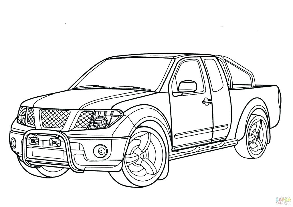 Dodge Truck Drawing At Getdrawings Com