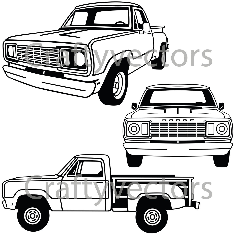 Ziemlich Malvorlagen Von Dodge Trucks Fotos - Entry Level Resume ...