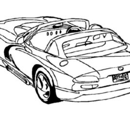 268x268 Dodge Viper Cars Coloring Pages Car Coloring Pages