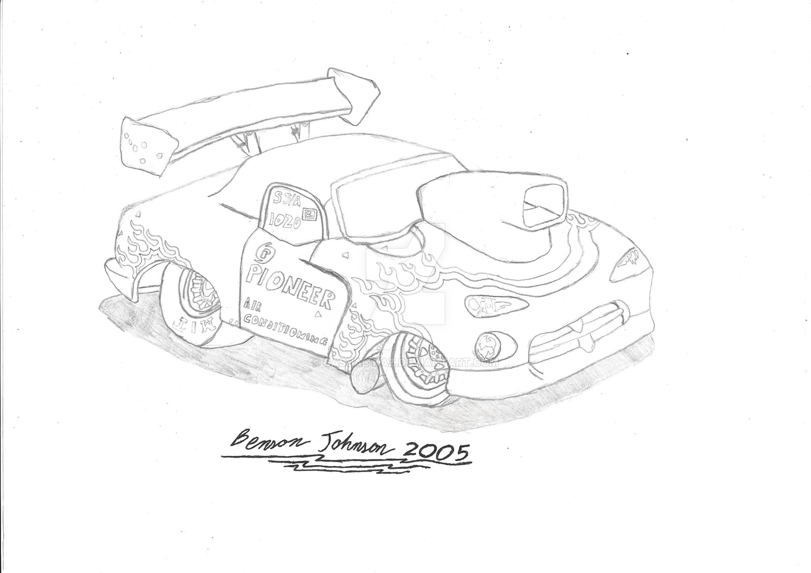 1600x1132 Dodge Viper Dragster By Casual Kaz