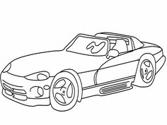 236x177 Car Printables To Print Sls Car Coloring Picturesfree Dodge