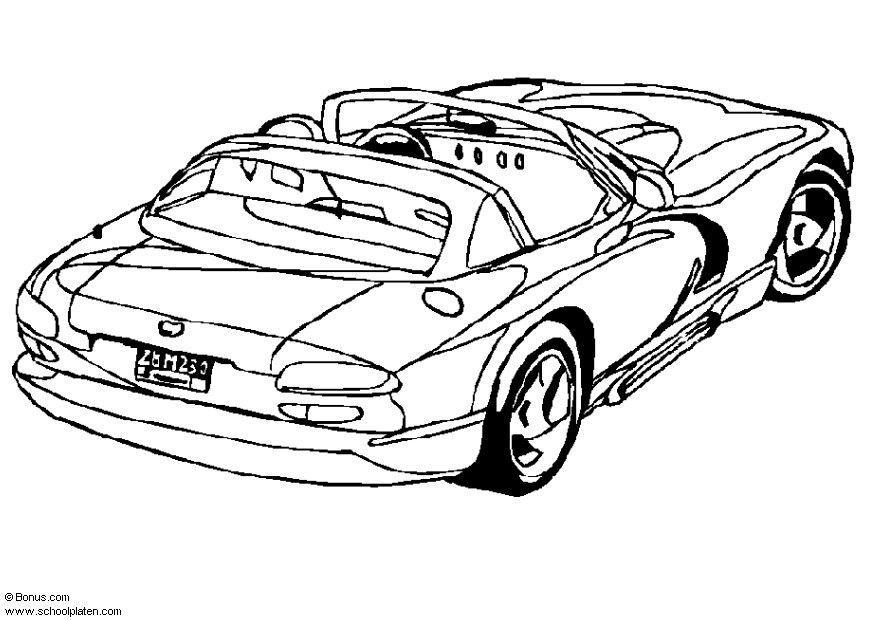 875x620 Coloring Page Dodge Viper