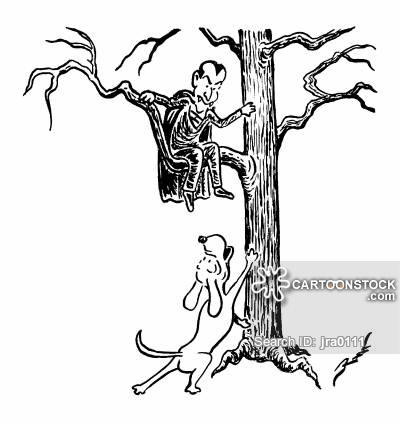 400x424 Barking Up The Wrong Tree Cartoons And Comics