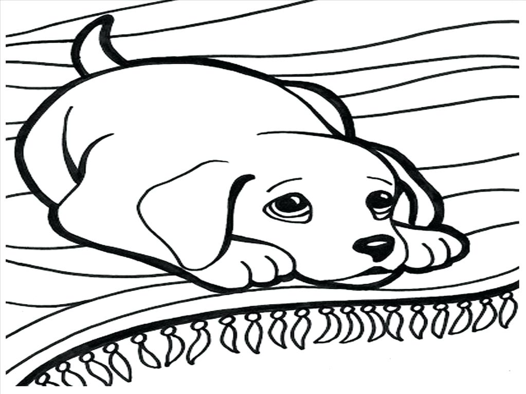 1023x767 Cute Dog Barking Coloring House Coloring Pages
